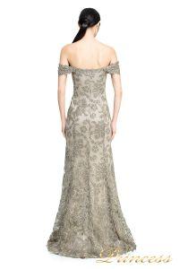 Вечернее платье ART16367L. Цвет серый. Вид 3