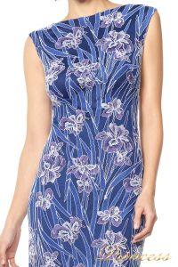 Вечернее платье TADASHI SHOJI ASV2131L. Цвет цветочное. Вид 2