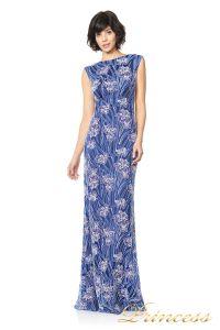 Вечернее платье TADASHI SHOJI ASV2131L. Цвет цветочное. Вид 1