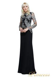 Вечернее платье Tadashi Shoji  ATH16206LXY SMKPL. Цвет чёрный. Вид 3
