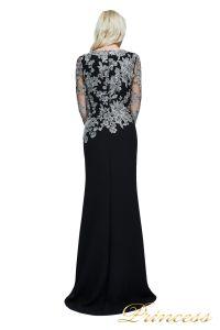 Вечернее платье Tadashi Shoji  ATH16206LXY SMKPL. Цвет чёрный. Вид 2