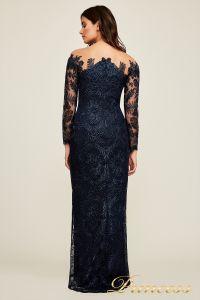 Вечернее платье Tadashi Shoji AUL18234L NAVY. Цвет синий. Вид 4
