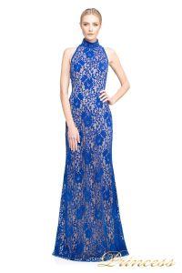 вечернее платье TADASHI SHOJI AUM 16546 L JW/ND. Цвет электрик . Вид 1
