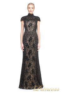 вечернее платье TADASHI SHOJI AUM16556LB BK/ND. Цвет чёрный. Вид 1
