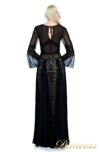 Вечернее платье AVS17086I BLACK. Цвет чёрный. Вид 4