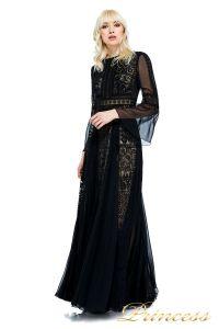 Вечернее платье AVS17086I BLACK. Цвет чёрный. Вид 2