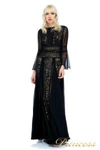 Вечернее платье AVS17086I BLACK. Цвет чёрный. Вид 1