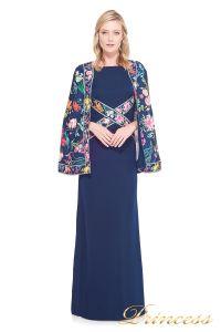 Вечернее платье TADASHI SHOJI AVZ17126L. Цвет синий. Вид 4