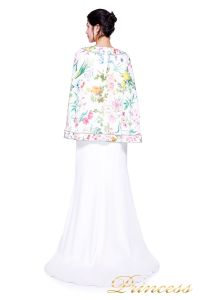 Вечернее платье TADASHI SHOJI AVZ17126L. Цвет синий. Вид 3