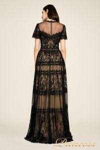 Вечернее платье AWI17173L CAMILLA GOWN. Цвет чёрный. Вид 3