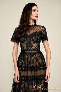 Вечернее платье AWI17173L CAMILLA GOWN. Цвет чёрный. Вид 2