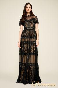 Вечернее платье AWI17173L CAMILLA GOWN. Цвет чёрный. Вид 1
