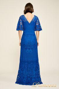 Вечернее платье AUA18255L blvlt. Цвет электрик . Вид 2
