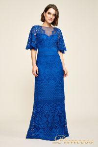 Вечернее платье AUA18255L blvlt. Цвет электрик . Вид 1