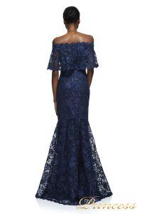 Вечернее платье Tadashi Shoji AYB17430L NAVY. Цвет синий. Вид 2
