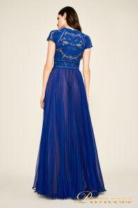 Вечернее платье AYV 17705 LX royal nude back. Цвет электрик . Вид 2