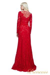 Вечернее платье AYV17729L CARDINAL RED. Цвет красный. Вид 2