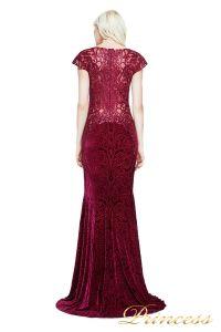 Вечернее платье Tadashi Shoji AZG17767L WINE. Цвет красный. Вид 2