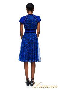Коктейльное платье AZV17705M RYLBK . Цвет синий. Вид 2