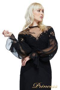 Вечернее платье TADASHI SHOJI AZY17747L. Цвет чёрный. Вид 3