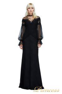 Вечернее платье TADASHI SHOJI AZY17747L. Цвет чёрный. Вид 1