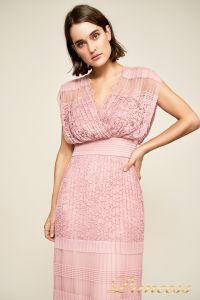 Вечернее платье BBT18367L rsqtz . Цвет розовый. Вид 4