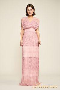 Вечернее платье BBT18367L rsqtz . Цвет розовый. Вид 2