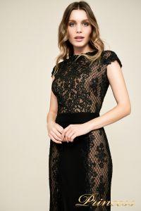 Вечернее платье BBU18450L bk nd. Цвет чёрный. Вид 3