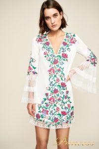 Вечернее платье BDB18423S white dahlia. Цвет шампань. Вид 4