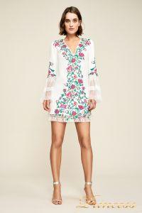Вечернее платье BDB18423S white dahlia. Цвет шампань. Вид 2