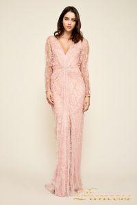 Вечернее платье Tadashi Shoji BDI18487LB ROSE. Цвет розовый. Вид 3