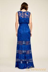 Вечернее платье BDM18593L indigo. Цвет электрик . Вид 2