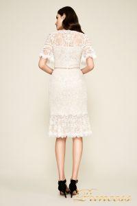 Вечернее платье BEI18930M ivory natural. Цвет цветочное. Вид 2
