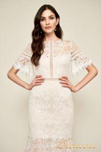 Вечернее платье BEI18930M ivory natural. Цвет цветочное. Вид 3
