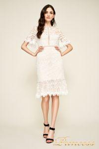 Вечернее платье BEI18930M ivory natural. Цвет цветочное. Вид 1