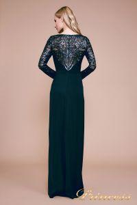 Вечернее платье BET18082L. Цвет синий. Вид 3