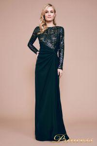 Вечернее платье BET18082L. Цвет синий. Вид 1