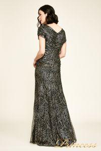 Вечернее платье BJH1060L. Цвет чёрный. Вид 4