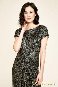 Вечернее платье BJH1060L. Цвет чёрный. Вид 3
