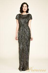 Вечернее платье BJH1060L. Цвет чёрный. Вид 2