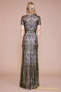 Вечернее платье BMN19428L. Цвет стальной. Вид 3