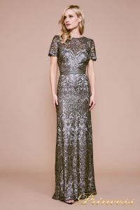 Вечернее платье BMN19428L. Цвет стальной. Вид 1