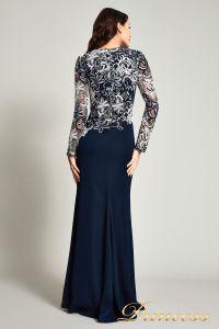 Вечернее платье BOQ16206LXY. Цвет синий. Вид 3