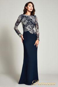 Вечернее платье BOQ16206LXY. Цвет синий. Вид 1