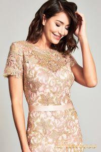 Вечернее платье BOQ19428L. Цвет пастель. Вид 3