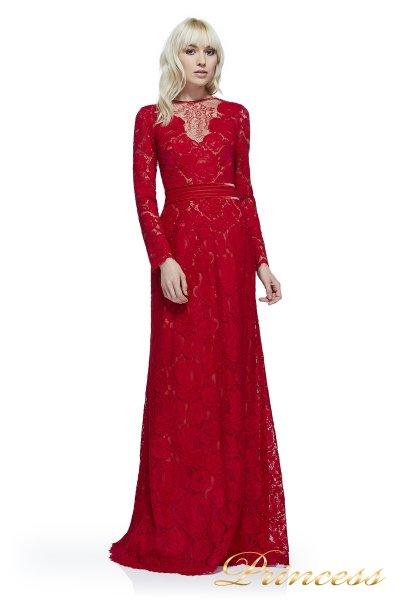 Вечернее платье AYV17729L CARDINAL RED (красный)
