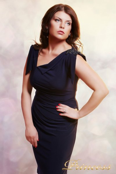 Вечернее платье 1029 M (синий)