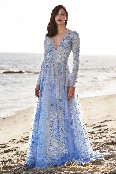 Вечернее платье Tadashi Shoji BDI18484LB (цветное )