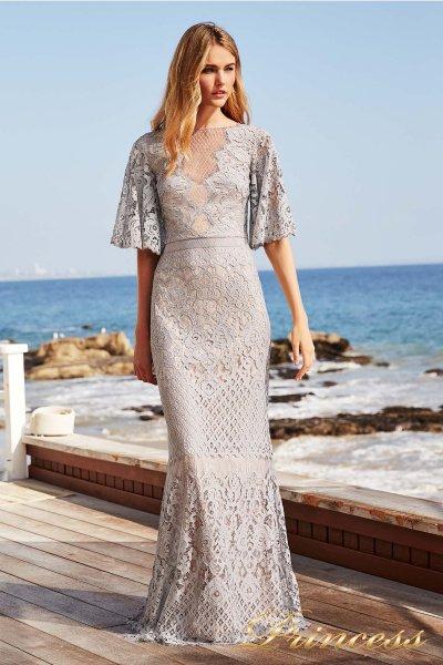 Вечернее платье Tadashi Shoji AYA18255L (серый)