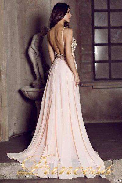 Вечернее патье 12014 R (розовый)